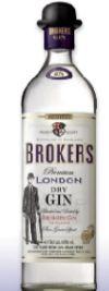 London Dry Gin von Brokers