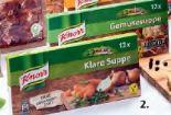 Gemüse-Bouillon von Knorr