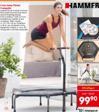 Fitness-Trampolin von Hammer