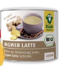 Bio Ingwer Latte von Raab Vitalfood