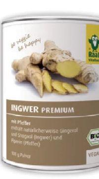 Bio Ingwer Premium von Raab Vitalfood