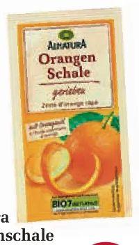 Orangenschale von Alnatura