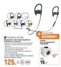Bluetooth-In-Ear Sportkopfhörer von Beats