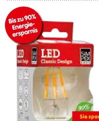 LED-Lampe Classic von Simpex Basic