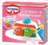 Back-Speisefarben von Dr. Oetker