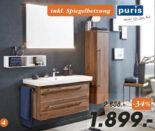 Badezimmer-Programm Star Line 05 von Puris
