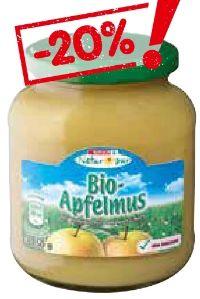 Bio-Apfelmus von Spar Natur pur