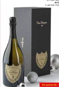Champagner von Dom Perignon