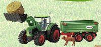 Traktor mit Anhänger 42379 von Schleich