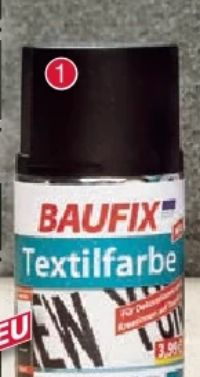 Textilfarbe von Baufix