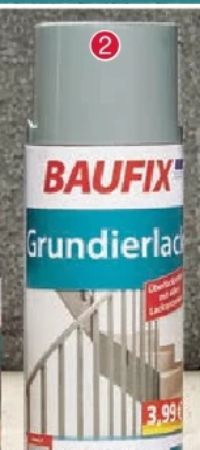 Grundierlack von Baufix