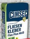 Fliesenkleber Flex Plus von Cimsec
