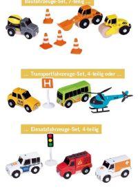 Fahrzeuge-Ergänzungsset von Playtive Junior