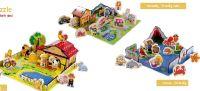 3D-Holz-Steckpuzzle von Playtive Junior