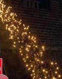 LED-Büschellichterkette Cluster