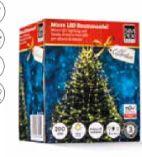Micro LED Lichterkette Christbaum-Baummantel von Simpex Basic
