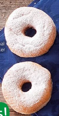 Zucker-Donut von SPAR enjoy