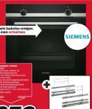 Einbauherd Set HB278ABS0 + HZ38S00 von Siemens