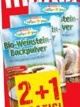 Bio-Weinstein-Backpulver von Spar Natur pur