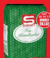 Fein-Kristallzucker von S Budget