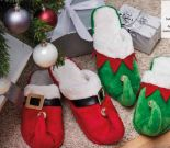 Hausschuhe Weihnachts-Wichtel