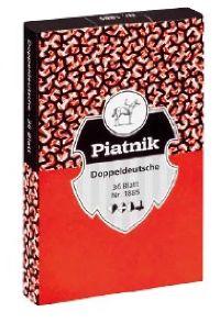 Spielkarten Doppeldeutsche von Piatnik
