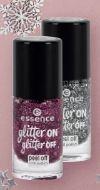 Nagellack Glitter On glitter Off von Essence