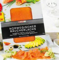 Norwegischer Räucherlachs von Spar Premium