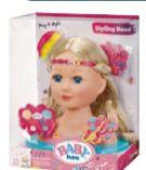 Baby Born Sister Styling Head von Zapf Creation