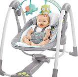 Babyschaukel Hoots-Hugs von Ingenuity