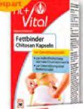 Fettbinder Chitosan Kapseln von Fit+Vital