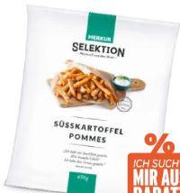 Süßkartoffel Pommes von Merkur Selektion