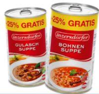 Suppen von Inzersdorfer