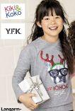 Mädchen Langarmshirts von Kiki & Koko