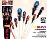 Raketensortiment Comanchen von Indians