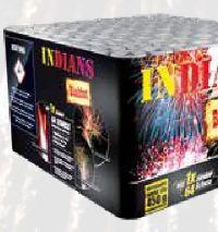 Feuerwerks-Batterie Blackfoot von Indians