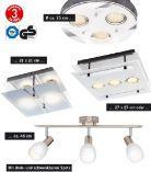 LED-Solar-Wandleuchte von Livarno Lux