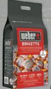 Briketts von Weber