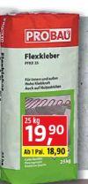 Flexkleber PFKX 25 von Probau