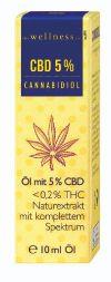 Cannabidiol Öl von the wellness co.