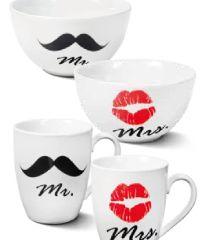 Kaffeebecher Mr & Mrs