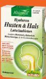Hyaluron Husten-Hals Lutschtabletten von Alsiroyal