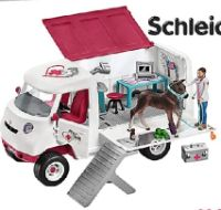 Mobile Tierärztin mit Hannoveraner Fohlen 42370 von Schleich