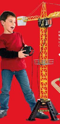 Fast Lane Action Wheels Mega Kran von ToysRus