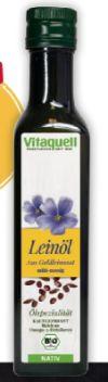 Leinöl Goldleinsaat von Vitaquell