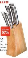 Messerblock New Steel Design von Justinus