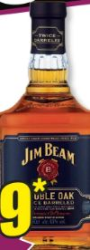 Double Oak Kentucky Straight Bourbon Whiskey von Jim Beam