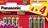 Batterien von Panasonic