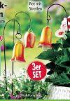 Keramik-Glockenblumen von Powertec Garden