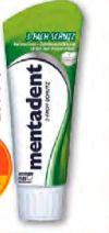 Zahncreme von Mentadent